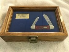 Mark McGwire Home Run King 1998 Collector Case Knife In Wooden Box
