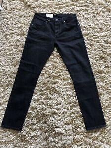 NEUW Mens Premium Denim Jeans W32 L32 Style IGGY Skinny Washed Weathered NEW