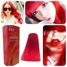 Berina A 23 color Fire Red cream permanent red bleaching hair dye color cream