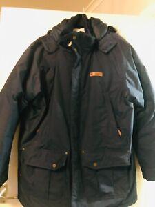 Mens Navy Columbia Winter Down Jacket XXL