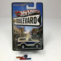 '85 Ford Bronco 4x4 * Hot Wheels Boulevard w/ Real Riders * WE6