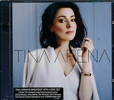 Tina Arena 2-disc Greatest Hits CD Reimagine Mauboy Minogue Jimmy Barnes
