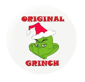 Original Grinch 25mm Button Badge Funny Christmas