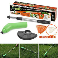 Cordless Grass Trimmer Portable Weed String Lawn Cutter Garden Eater Strimmer US