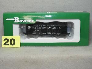 BOWSER HO SCALE #42644 PENNSYLVANIA 2 BAY HOPPER NEW, READY TO RUN