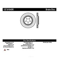 Front Right Brake Rotor For 1994-2001, 2003-2004 Ford Mustang 1995 1996 Centric