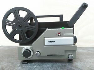 Cinerex 727 Super 8 Standard 8 Projector 6 Month Guarantee FREE Cine Care Kit