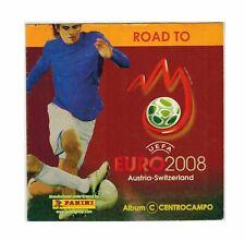 Road to Euro 2008 Mini Album Incompleto Centrocampo Panini McDonald's