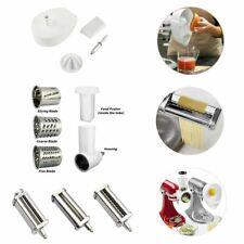 Pasta Roller Cutter + Prep Slicer / Juicer Attachment For KitchenAid Stand Mixer