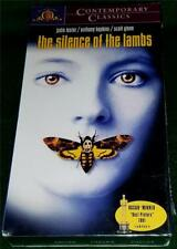 JODIE FOSTER, ANTHONY HOPKINS, The Silence of the Lambs, VHS, NEW