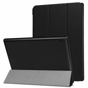 "TUFF LUV Smart Cover & Stand With Tablet Armour Shell for Lenovo Tab 4 10"" - Blk"