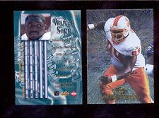1997 CE Collectors Edge Masters WARREN SAPP Tampa Bay Buccaneers Card