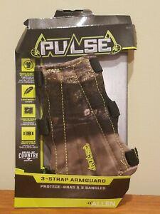Allen Pulse 3-Strap Armguard #4310 - Mossy Oak Break-Up Country Camouflage Camo