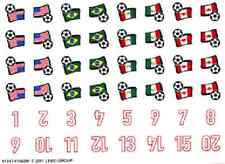 LEGO 3416 - Sports - Soccer / Women's Team - STICKER SHEET