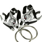 Shimano ST-EF51 3x7 Speed Shift/Brake Lever Set , Silver
