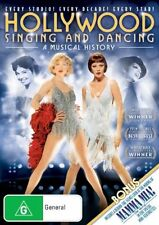HOLLYWOOD SINGING AND DANCIND-A MUSICAL HISTORY DVD=REGION 4 AUST=NEW AND SEALED