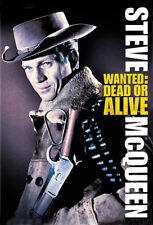 Wanted Dead or Alive Steve McQueen movie poster print