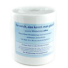 mein Windelvlies - ultra - Windel Vlies für Stoffwindeln Windeleinlagen 100Stk.