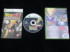 DRAGON BALL Z BURSTLIMIT : JEU Microsoft XBOX 360 (Burst Limit COMPLET suivi)