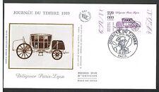 ENVELOPPE 1ER JOUR JOURNEE DU TIMBRE 1989 PARIS
