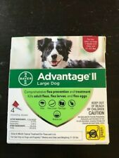 Bayer Advantage II Topical Flea Treatment for Large Dogs, 21 - 55 lbs, 4 Doses