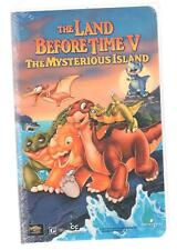 The Land Before Time V The Mysterious Island VHS vintage 1997 Clamshell