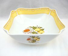 """Georges Briard Somerset Square Vegetable Serving Bowl 7 7/8"""" x 3 1/4"""""""
