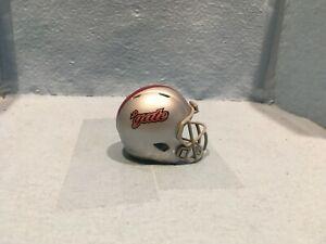 Custom Pocket Pro helmet.  FCS      Colgate       Pioneer League