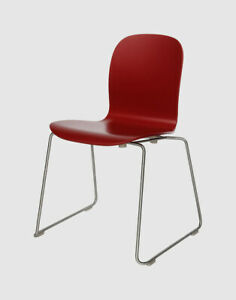 Cappellini Tote Chair By Jasper Morrison Red