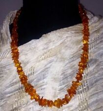"Natural Amber 24 - 29.99"" Fine Necklaces & Pendants"