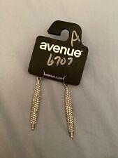 Crystal Silver Color Avenue Earrings