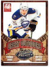 2012-13 Rookie Anthology Elite The Great Outdoors - THOMAS VANEK #GO5  -  /500