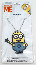 NEW Universal Studios Despicable Me Minion Made - Waving Necklace Charm & Chain