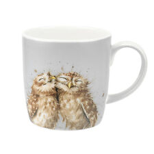 Royal Worcester Wrendale Designs Large mug The Twits Owls Owl Large  Mugs
