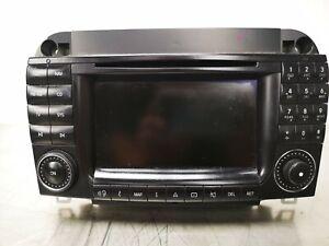 MERCEDES S CLASS W220 FACELIFT COMAND SAT NAV RADIO CD PLAYER A 2208205889