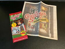 A Christmas Story Pamphlet & Newspaper Insert 2015 Comes Home To Indiana