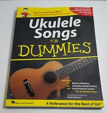 Hal Leonard Ukulele Songs For Dummies Songbook Fun Easy Pop Children's Country