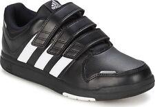 New Adidas LK Trainer 6 CF K  Kids Junior   Black  /  White