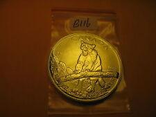 CANADA 2012 WILD LIFE COUGAR 1 OZ $5 SILVER COIN ID#B116