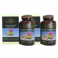 Body & Health Maxi Milk Thistle Liver Tonic 35000mg 100 capsules x 2 Units