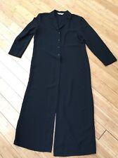 Sport Collection Women's Black Duster Jacket Blazer Coat Sz 10 Canada NEW!