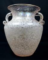 Vintage Murano Sommerso Glass Amphora Vase c1980s/1990s