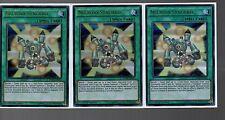 Yugioh Cards - Playset of 3x Ultra Rare Holo - Necroid Synchro DUSA-EN015