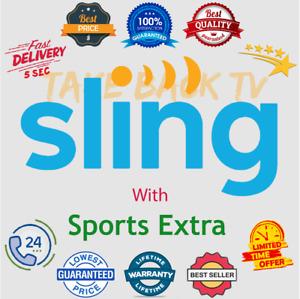 SlingTv | 0range | Blue | Sports Extra | For 2 Years