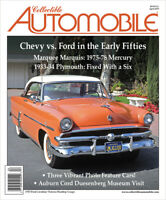 NEW Collectible Automobile APRIL 2019, Chevy vs. Ford in the Early 50s Spoils of