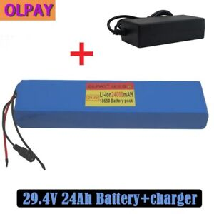 High quality 7S4P 24V 24Ah electric bicycle motor ebike scooter li-ion battery