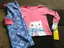 Toddler girls Carter's owl pjs size 2T(NWT)