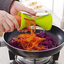 Kitchen Veggie Spiral Zucchini Noodle Vegetable Cutter Vegetti Julienne Slicer