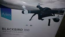 Aries BlackBird X10 Drone  Quadcopter w- built in 16MP Still/Cine Camera