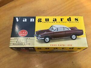 Vanguards Ford Capri 109E maroon/white